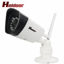 Wifi IP Camera 1080P HD Support Micro SD Card Waterproof IP65 CCTV Security Wireless CAM P2P Outdoor Infrared IR Network APP