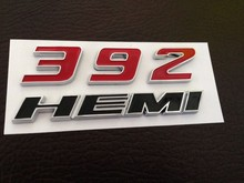 2012 2013 2014 2015 RED 392 HEMI EMBLEM NEW FOR  CHARGER CHALLENGER CHRYSLER