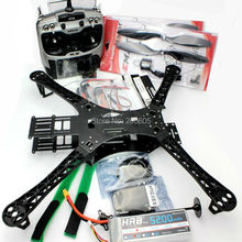 X500 4-Axis Quadcopter Frame+APM2.8+M8NGPS+MT2216 810KV Motor+ 40A ESC+ Radiolink AT9 Transmitter Combo for FPV