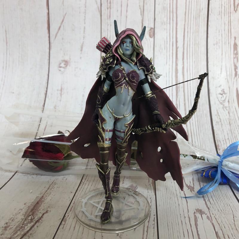 14cm Darkness Ranger Lady Sylvanas Windrunner Figure Toys PVC Action Figure Coll