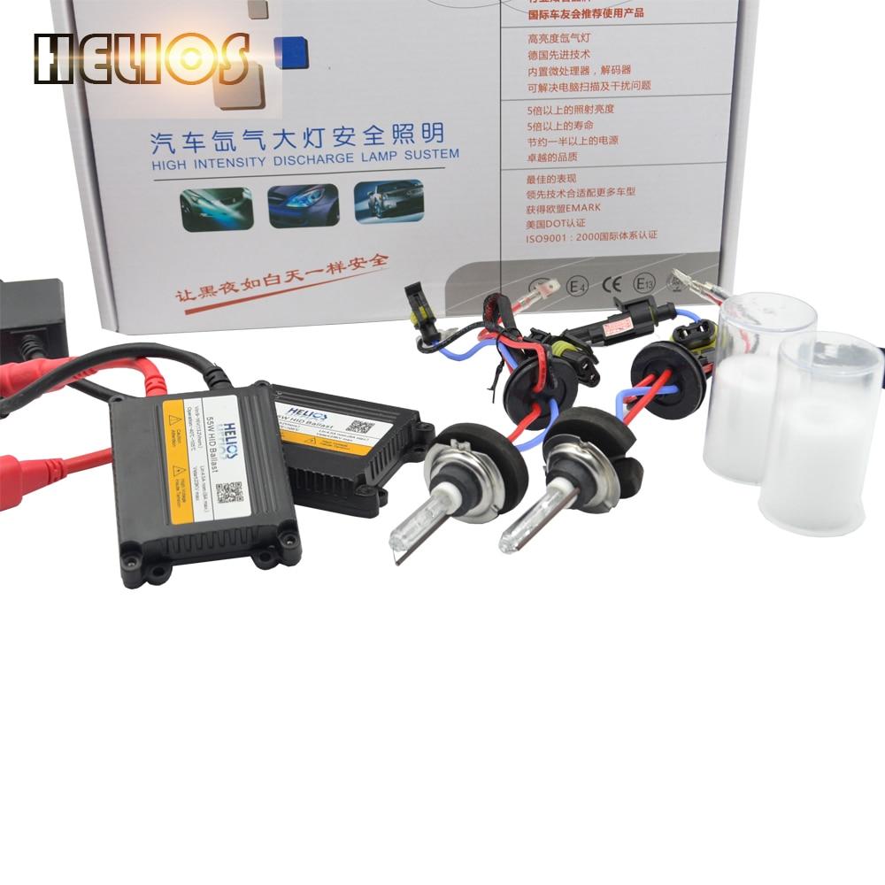55w fast strart AC H1 hid xenon kit  slim hid digital xenon kit autolamp headlight h1 h3 h4lo h7 h11 h8 hb3 hb4 white color<br><br>Aliexpress