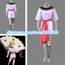 Hot Selling NARUTO Temari Cosplay Costumes Japanese Anime Costume(China)