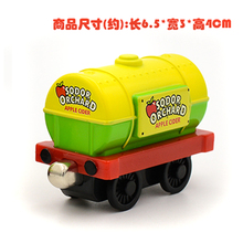 X143 new diecast magnetic Thomas & Friends alloy  sodor orchard apple cider transport Tanker trucks children toy Limited Edition