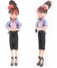 NK один комплект Новое поступление ручной работы корковых одежда и спортивная мода платье для Monster High Куклы для BJD Куклы Best подарок(China)