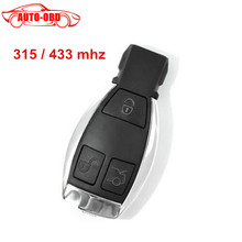 High quality 3 Buttons Smart Remote Key for Mercedes&Benz NEC Chip 315/433MHz Optional Supports MB Car Models After Year 2000