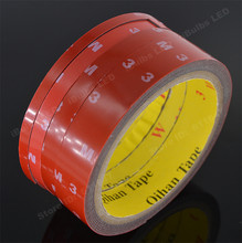 High Quality Car Sticker Auto Double Foam Faced Adhesive Tape Vehicle Sides Tissue Tape Decals Accessories Decoration