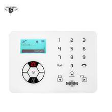 KING PIGEON GSM Community Security Alarm System SOS Help Alarm Alert Neighbors Home Burglar Safe Guard Elderly Care K8 Panel(China)