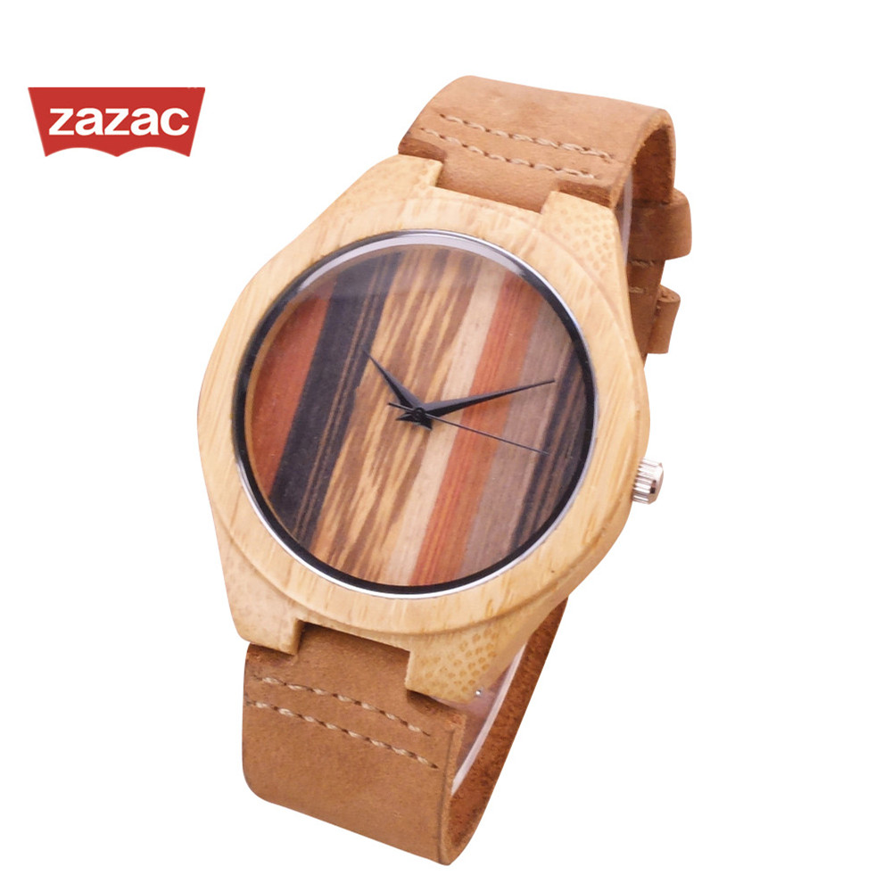 colorfull wooden watch