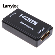 Larryjoe Newest Full 1080P Mini HDMI Repeater Extender HDMI Amplifier Booster 130FT 40M 1080p 1.65G bps(China)