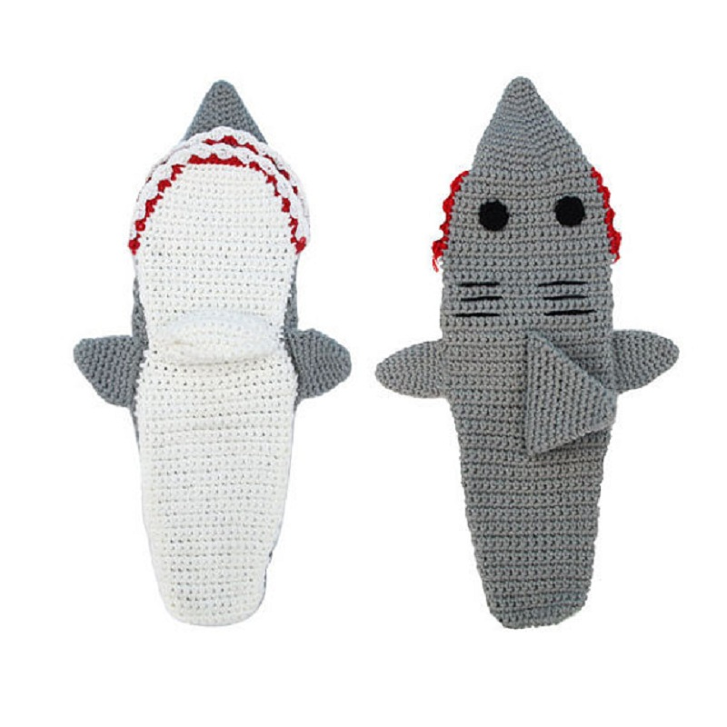 """Shark Snack"" Cute Funny Shark Socks 3"