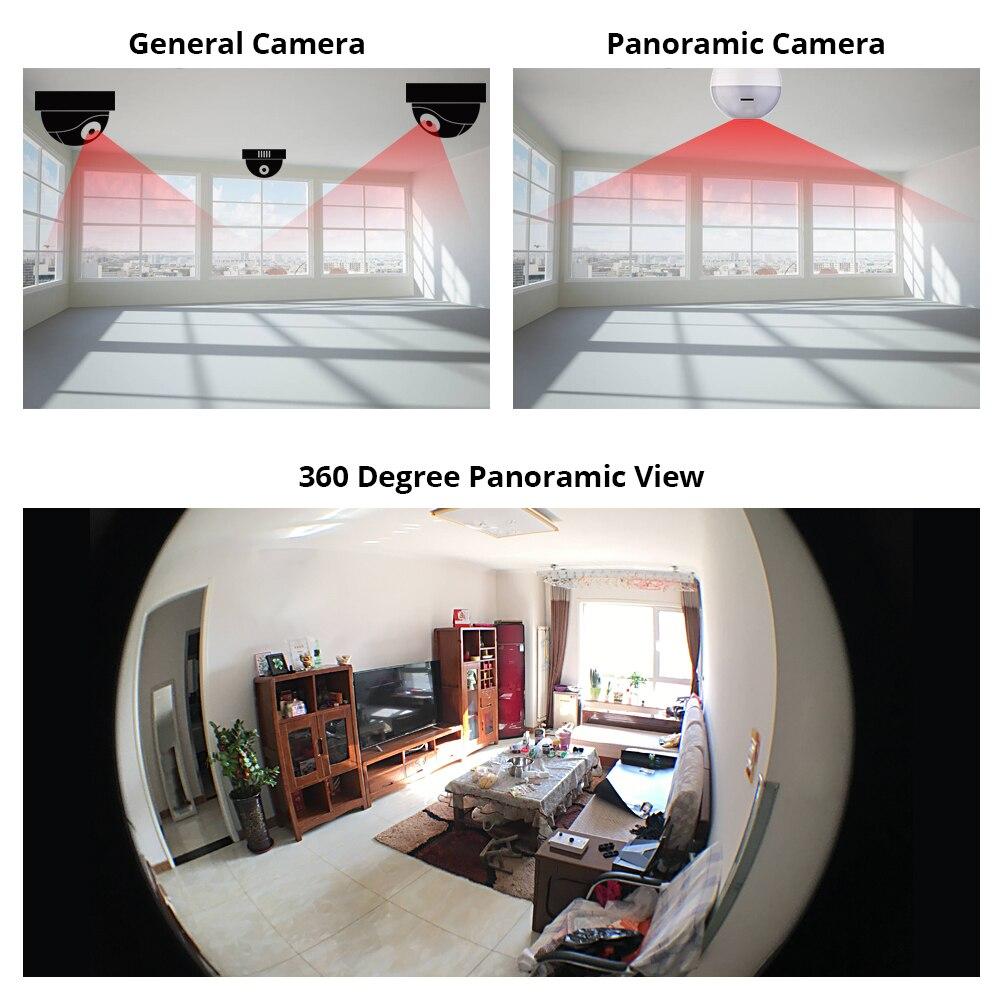 كاميرا لاسلكية مع مصباح