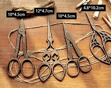 1pc/lot ZAKKA vintage design tailor's scissors School scissors Good quality 4 designs(tt-1239)(China)