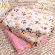 3 Sizes Pet Kennel Mat Thermal Blanket Dog Quilt Polka Dot Air Conditioning Blanket Pet Products Autumn Winter mat PC07