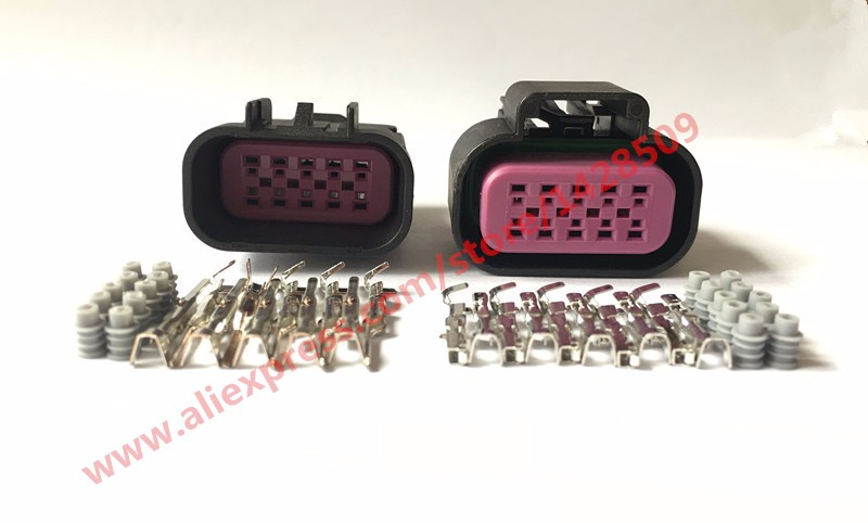 1 Sets Delphi GT Series 10 Pin Female Male Sealed Waterproof Auto Car Wire Electric Connector Automotive Housing Plug 15326842<br><br>Aliexpress