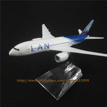 16cm Alloy Metal Air Lan Airways Airlines Boeing 787 B787 CC-BBA Airways Airplane Model Plane Model W Stand Aircraft Gift(China)
