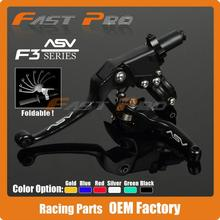 Alloy ASV F3 Series 2ND Clutch Brake Folding Lever Fit Most Motorcycle ATV Dirt Pit Bike Modify parts Spare Parts
