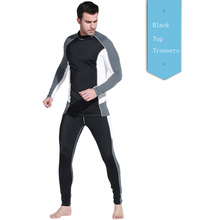 3MM Scuba Dve Wet Suit Diving Snorkeling Swimming Equipment Jumpsuit Swimwear Wetsuit Split Suits For Spear Fishing Top Trousers