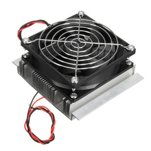 Thermoelectric Peltier Cooler Refrigeration DC 12V Semiconductor Air Conditioner Cooling System DIY Kit(China)
