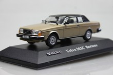 ATLAS 1:43 VoIvo 262C BERTONE Volvo car model alloy model vintage cars(China)
