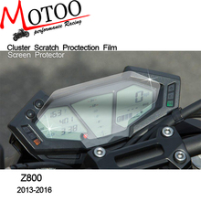 Motoo -free shipping   Cluster Scratch Protection Film Screen Protector For Kawasaki Z800 2013-2016 ZR800 ABS 2016