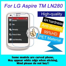 2pcs For LG Aspire TM LN280 High Clear Screen Protector, For LG C410 Glossy Screen Protective Film