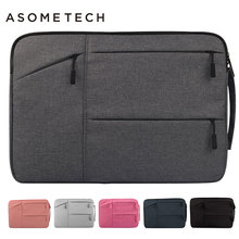 For Macbook 11 12 13 14 15 15.6inch Laptop Bags Sleeve Notebook Case for Retina Pro 13.3 Dell HP Asus Acer Lenovo Soft Briefcase(China)