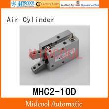 Pneumatic air cylinder gripper MHC2-10D  double acting pivot open closed gas claws manipulator