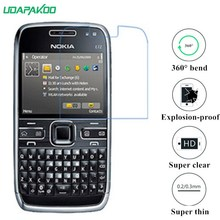 udapakoo clear Tempered (soft glass) film for Nokia E72 Nano Explosion-proof glass Screen Protector