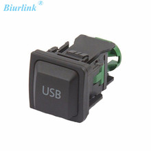 USB Switch USB Adapter Button RCD510 RNS315 For VW Golf 6 Golf MK6 5KD035726A(China)