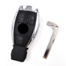 Latest Smart Remote Car Key 3 Buttons 433MHZ for NEC Mercedes-Benz MB Suitable for All IR wipe equipment(with LOGO)