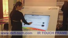 52 inch Infrared Touch Panel for Digital Signage /-6 Touch Points ,Sunrise - Noon - Sunset