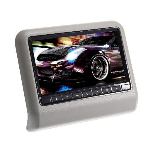 multi-function car home Headrest 9-Inch Video Display Monitor CD/DVD Player USB/SD Readers HDMI Port,support 32 bit games<br><br>Aliexpress