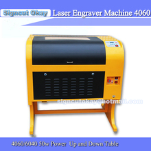 Free Shipping  Laser Engraver  4060/6040 50W Power (60W/80W/90W)  with Free Rotary Engrave Round Object  Laser Cutting Machine