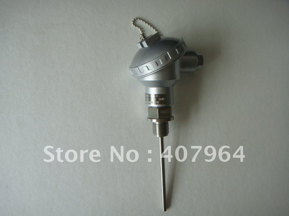 RTD PT100  Temperature Transmitter  with Terminal Head<br><br>Aliexpress
