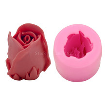 Big Love Rose Silicone Fondant Soap 3D Cake Mold Cupcake Jelly Candy Chocolate Decoration Baking Tool Moulds FQ1724