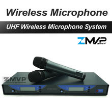 Free shipping! 545 G2 Professional UHF Wireless Microphone Monitor System with Dual Handheld Transmitter Microfone Mic