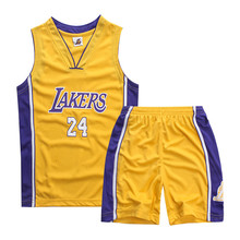Retail 2017 Kids Summer New basketball Suit Sportswear Set Boys Clothes Boys Clothing Sets Children Vest+ Shorts Sets 5-16 Years