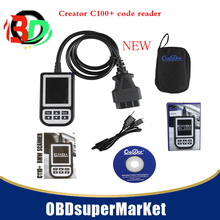 4pcs/lot 2017 promotion for new model creator c110+  creader code reader scanner for bmw obd eobd diagnostic tool