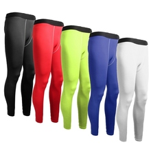 Outdoor Sports Compression Long Pants For Men Underwear Base Layers Tights Sportswear Training Football Running Pants M Size