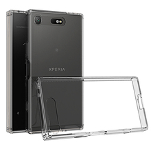 Buy Transparent case Sony Xperia XZ1 Compact Back Cover Sony XZ1 Compact Case Crystal TPU PC Xperia XZ1 Compact Silicon case for $4.67 in AliExpress store