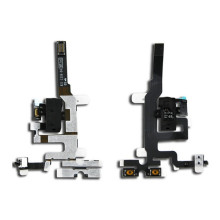 High Quality Replacement Parts For iPhone 4S Jack Audio Volume Mute Silent Switch Button Key Flex Cable(China)