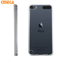 Crystal Clear Transparent Soft Rubber TPU Back Cover Case For iPod Touch 5 5G 5th 6 TPU Phone Bag For iPhone 5s SE 6 6S 7 Plus(China)