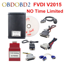 Newest V2015 FVDI Full Version Read Pin Code FVDI with 18 Software NO Time Limited In Stock FVDI V2014 DHL Free