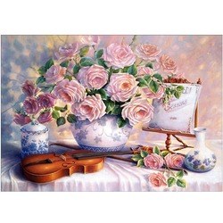 Алмазная живопись «Цветы»
