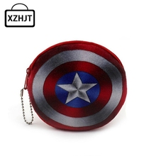 Cartoon Star Wars Superman Coin Purse Cute Children Plush Purse Bag Kids Girl Small Change Purse Wallet(China)