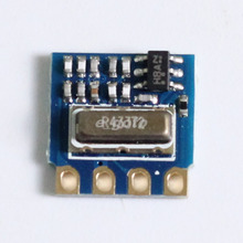 10pcs H34A-433 433Mhz MINI RF Wireless Transmitter Module Minimum Remote Control Module ASK 2.6-12V