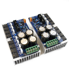 New 2ps PR-800 Class A /Class AB Professional stage hifi amplifier board with heatsink 2.0 home 1000W high power amplifier board
