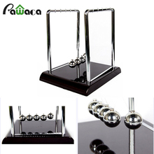 Home Desk Office Classic decoration 3 size Newtons Cradle Toy Kinetic Balance Balls Physics Science Executive Office Fun Gift(China)