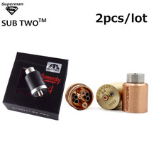 Buy 2PCS/LOT Vape Kennedy 24 RDA 24mm Diameter SS Black Brass Copper PEEK Insulator Rebuildable Atomizer Vaporizer fit 510 box Mod for $20.00 in AliExpress store