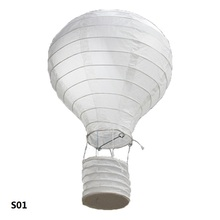 12inch Rainbow Hot Air Balloon Paper Lantern Sky Lanterns Chinese Wishing Lantern Wedding Party Birthday Decoration Home Decor(China)